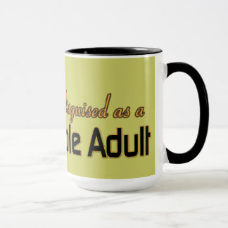 CLEVERLY DISGUISED AS RESPONSIBLE ADULT MUG