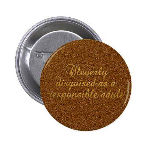 Cleverly Disguised button