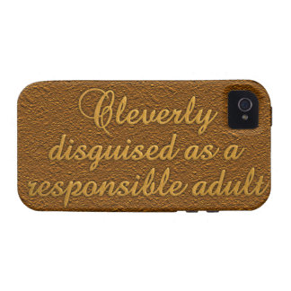 Cleverly Disguised iPhone 4 Case-Mate iPhone 4 Covers
