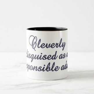 Cleverly Disguised mug - choose style & color