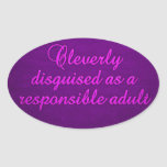 Cleverly Disguised stickers