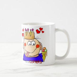 clevers, the ice cream king coffee mug