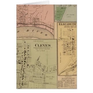 Cleves, North Bend, Ohio Greeting Card