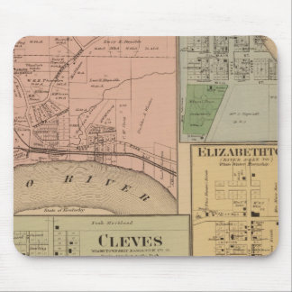 Cleves, North Bend, Ohio Mouse Pads