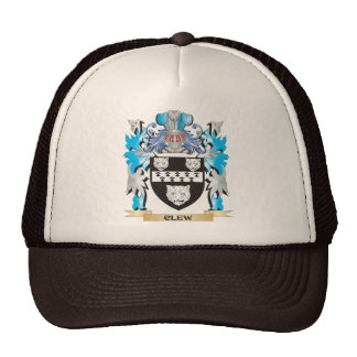 Clew Coat of Arms - Family Crest Trucker Hats