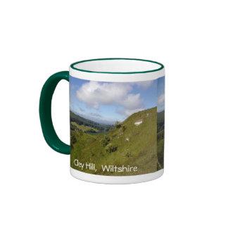 Cley Hill Climb Ringer Mug