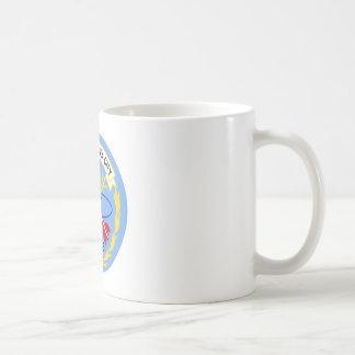 CLG-5 USS OKLAHOMA CITY Guided Missile Light Cruis Classic White Coffee Mug