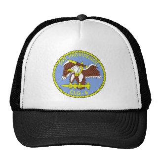 CLG-6 USS PROVIDENCE Guided Missile Light Cruiser Hats