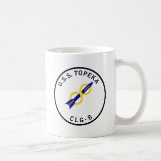 CLG-8 TOPEKA Guided Missile Light Cruiser Military Classic White Coffee Mug