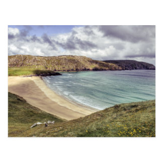 Clibhe Beach Outer Hebrides Postcard