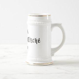Cliche Eat Cliche World Beer Stein