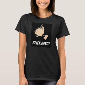 Click, Bang! tshirt - Womens