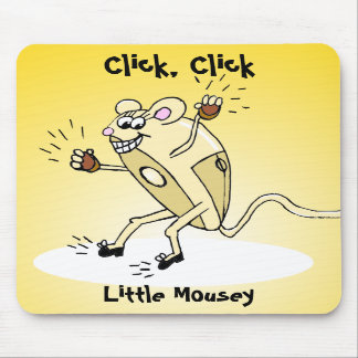 Click, Click, Little Mousey Mouse Pads