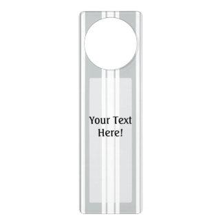 Click Customize it Change Grey to Your Color Pick Door Hanger