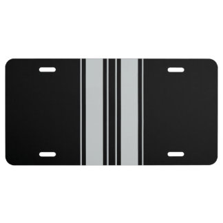 Click Customize to Change Grey to Your Color Pick License Plate