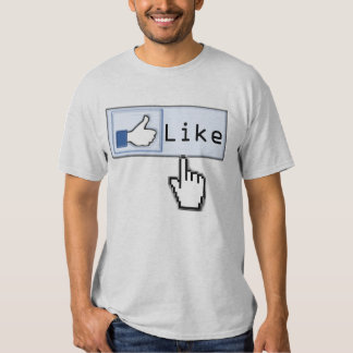 Click If You Like Thumbs Up T-Shirt
