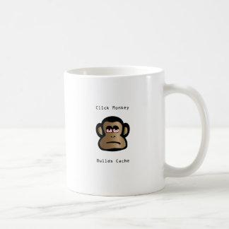 Click Monkey Builds Cache Coffee Mug