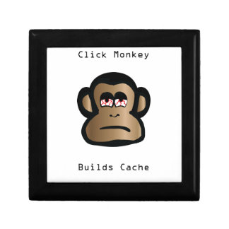 Click Monkey Builds Cache Gift Box