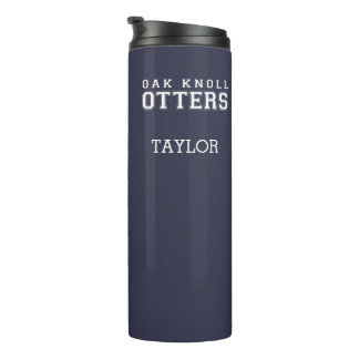 (click to change background color) Thermal Tumbler