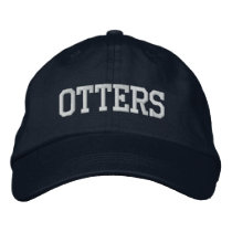 (Click to change color) Embroidered Otter Hat