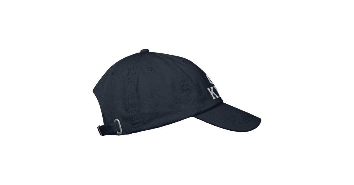 c192c59abcb9 (Click to change hat color) Embroidered Hat