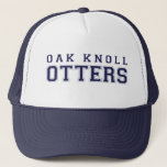 "(click to change hat color) Oak Knoll Otters<br><div class=""desc"">All sales benefit the Oak Knoll Elementary PTO</div>"