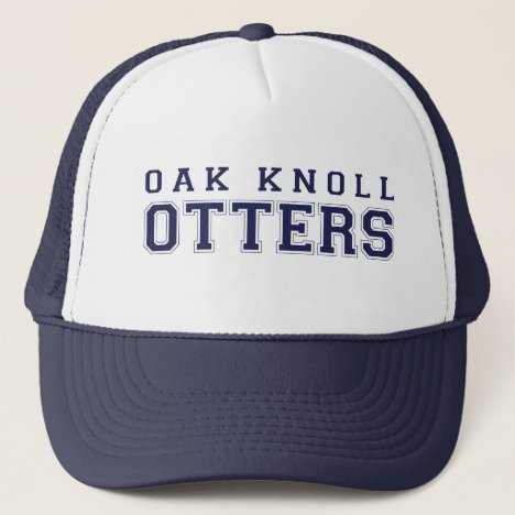 (click to change hat color) Oak Knoll Otters