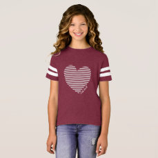 (click to change shirt color & style) Heart