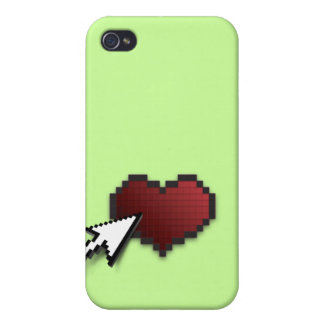 Clickable Heart iPhone 4 Covers