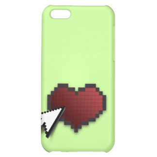 Clickable Heart Cover For iPhone 5C