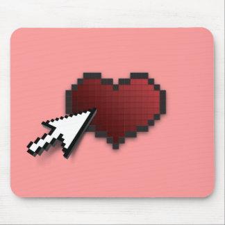 Clickable Heart Mousepad