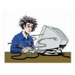Clicker psico tarjetas postales