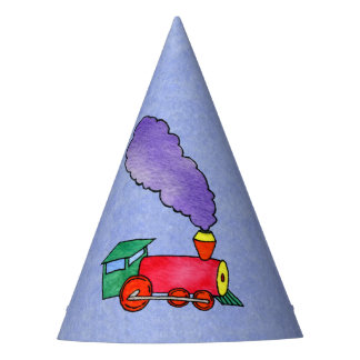 Clickety clack Choo Choo Train Party Hat