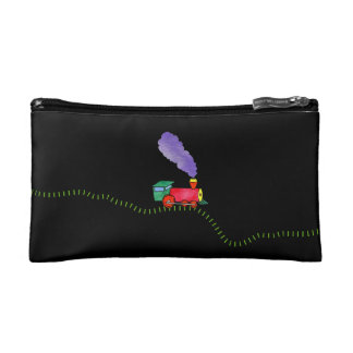 Clickety Clack Train Cosmetic Bag
