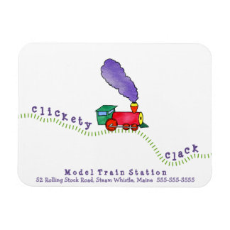 Clickety Clack Train Magnet