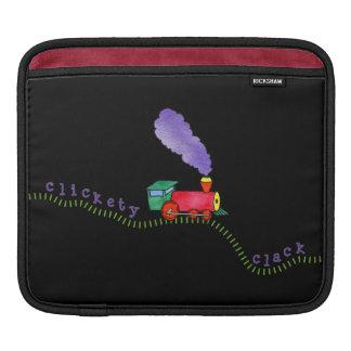 Clickety Clack Train Tracks Sleeve For iPads