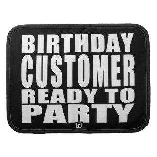 Clientes: Cliente del cumpleaños listo para ir de Organizadores