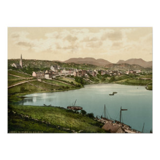 Clifden, condado Galway, Irlanda Póster