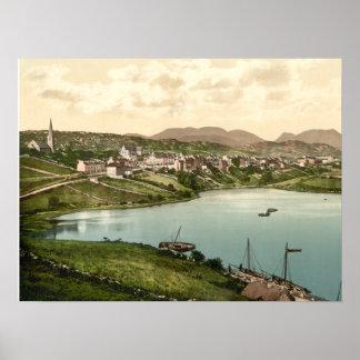 Clifden, condado impresión archival de Galway, Irl Póster