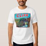 Cliff Apple Label - Chelan Falls, WA T-Shirt