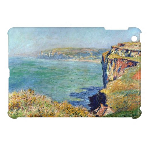 Cliff at Grainval by Claude Monet Case For The iPad Mini