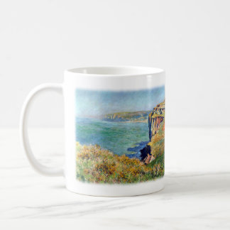 Cliff at Grainval by Claude Monet Coffee Mug