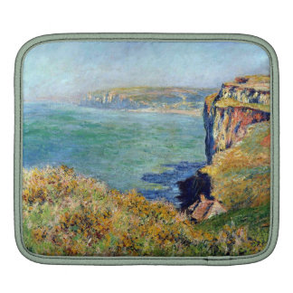 Cliff at Grainval by Claude Monet Sleeve For iPads