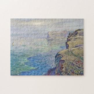 Cliff at Grainval near Fecamp Monet Fine Art Puzzle
