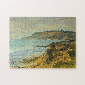 Cliff at Sainte-Adresse Monet Fine Art Puzzle