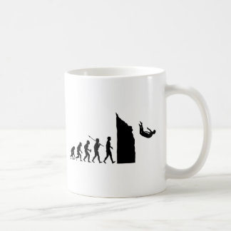 Cliff Diving Coffee Mug