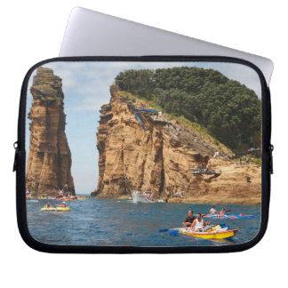 Cliff Diving event Computer Sleeve
