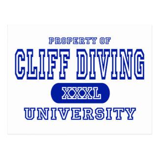 Cliff Diving University Postcard