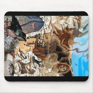 Cliff Dweller Fantasy 1 Mouse Pad