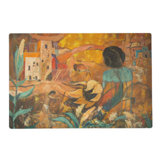 Cliff Dwellers Painting Placemat